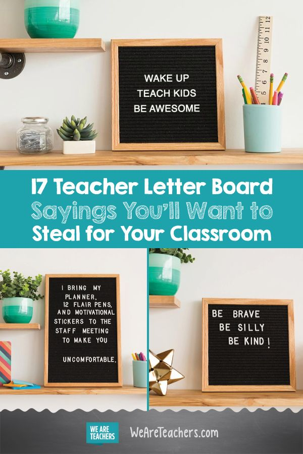 Teacher Letterboard Sayings You Ll Want To Steal For Your Classroom Letter To Teacher School Quotes Funny School Quotes