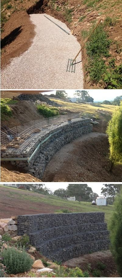... garden and outside on Pinterest | The chicken, Plants and Gabion wall