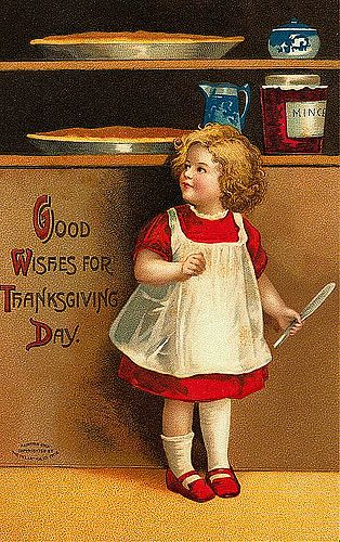 Vintage Thanksgiving Postcard | Free To use in your Art only… | Flickr