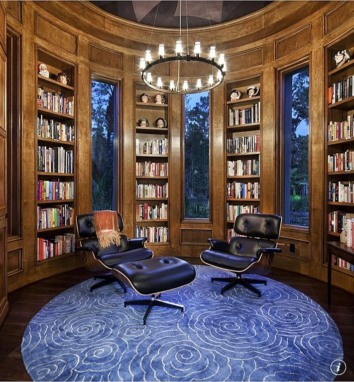 45 Design Ideas Of Amazing Home Libraries: 9 Best Images About Dream House- Library On Pinterest