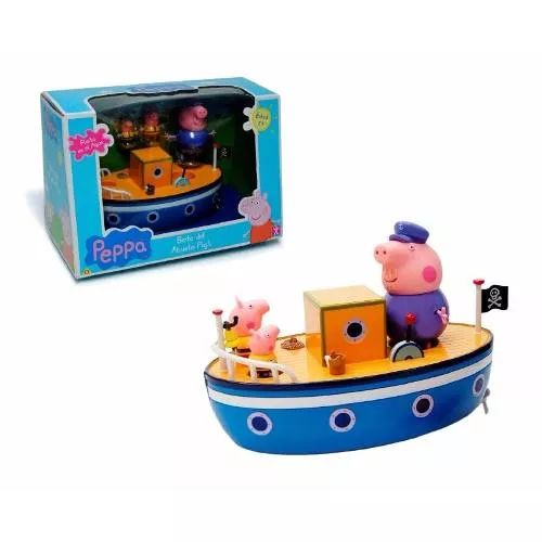 Peppa Pig El Bote Del Abuelo Bunny Toys - $ 1.399,90