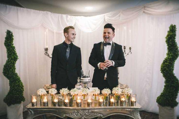 Sharon Mc Meel Wedding Planner & Event Management – Calvin and Stevie #gaywedding #happiness