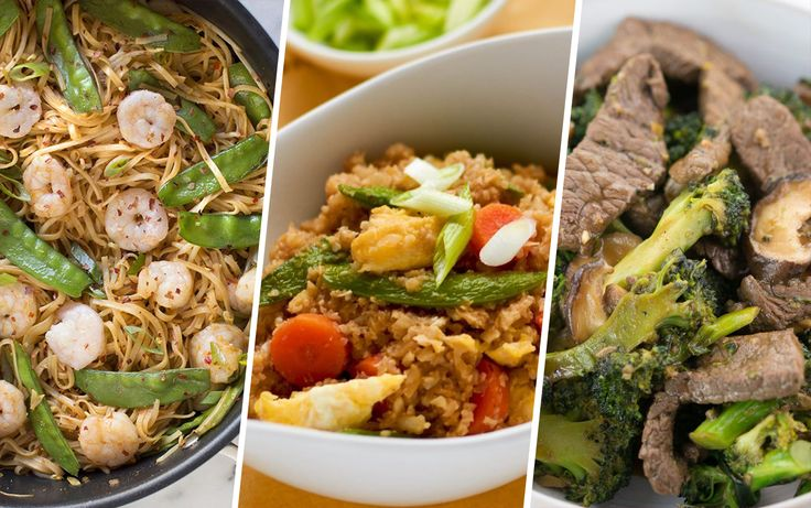 Why take out when you can prepare  your own favorite Chinese dishes at home? It's easy to make these healthier (and equally delicious) versions in the comfort of your own kitchen. Each of these five recipes is full of lean protein and bright veggies. Just be sure to use reduced-sodium soy sauce to keep salt …