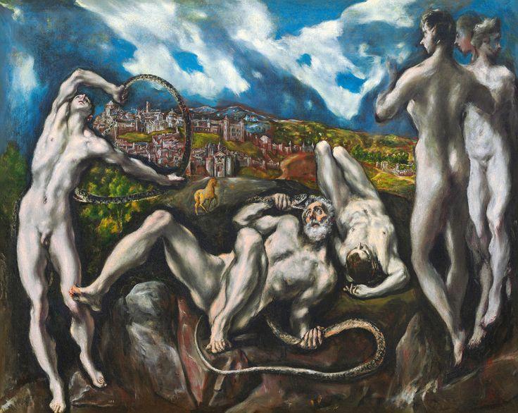 El Greco, «Laocoön» —