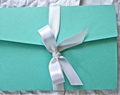 Breakfast At Tiffany's Wedding Invitations, Bachelorette Invitations, Itineraries Style 3
