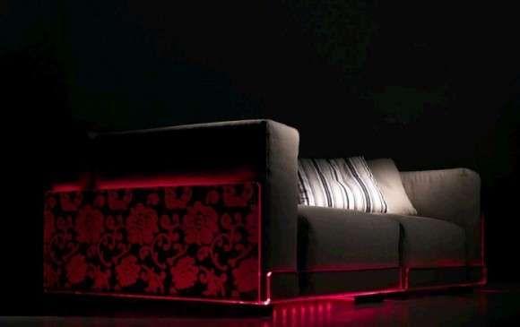 LED Lighting Sofas Brighten up Your Furniture #homedecor trendhunter.com