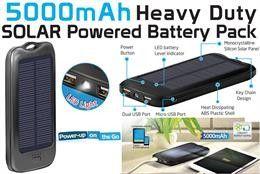 Promate solarMate - Powerbank med 5000mAh | Satelittservice tilbyr bla. HDTV, DVD, hjemmekino, parabol, data, satelittutstyr
