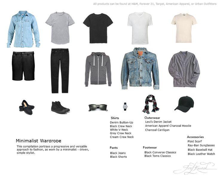 My current Minimalist Wardrobe - Imgur