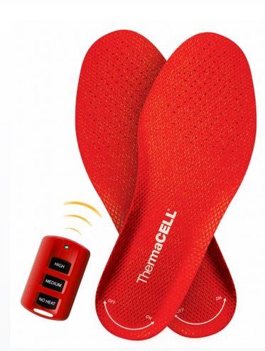 Thermacell Heated Insoles // to keep your toes warm! I need these for icy cold winter days! Clever design. #gadget