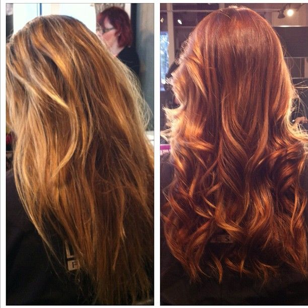 Before and After adding some Ginger