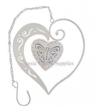 Nova Double Heart White $2.90