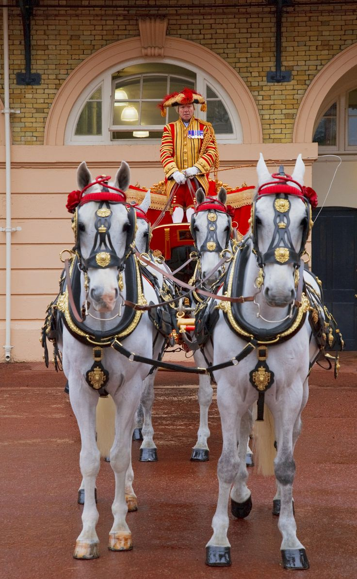 The Royal Mews, Buckingham Palace. Note from Katie: if you go at the right time of day, you'll get to watch the Queen's mail get delivered by a 2-horse carriage!  (Complete, 2014)