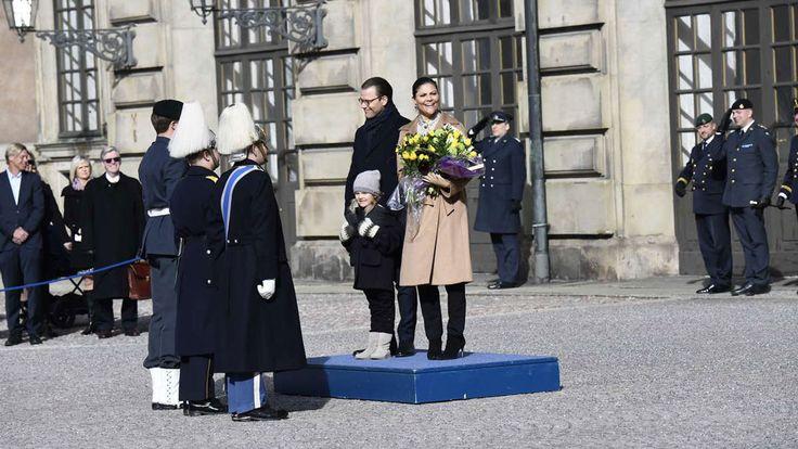 księżniczka Victoria, książę Daniel, księżniczka Estelle, książę Oscar