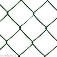 Rete recinzione plastificata griglia maglia sciolta 25 metri maglia 50 x 50