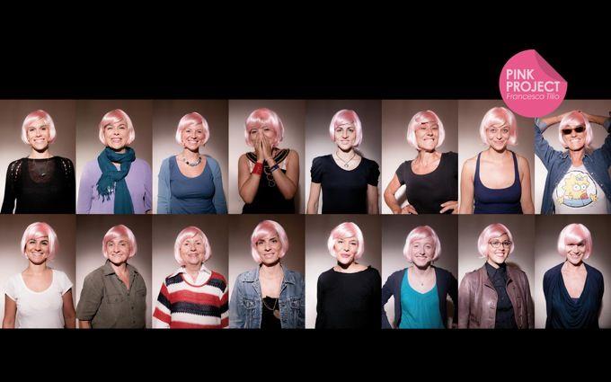 Francesca Tilio: una parrucca rosa per sfidare il cancro al seno, a testa alta - Donneuropa