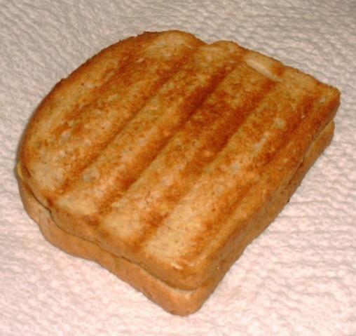 George Foreman Grill Breakfast Sandwich. Photo by Troop Angel