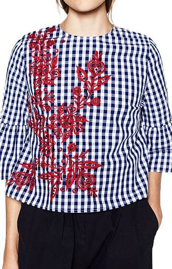 Specifications: Decoration:Embroidery Clothing Length:Regular Sleeve Style:Flare…