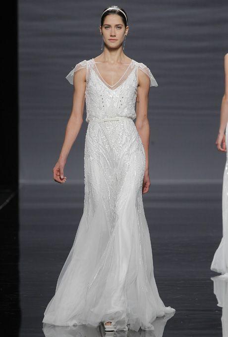 Brides.com: Rosa Clará - Spring 2014. Gown by Rosa Clará