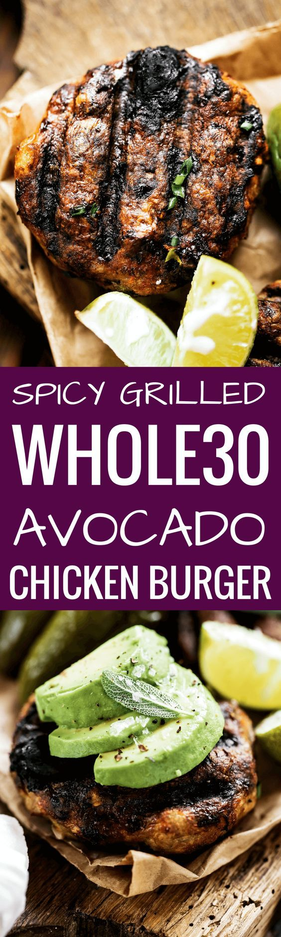 The most delicious LEGIT spicy avocado chicken burgers (paleo & whole30)! Loaded with fresh basil and garlic! Top with a creamy white sauce and red onion. Plus, these fluffy and soft grain free buns are to die for! Check out this whole30 burger. Paleo burger recipe. Paleo burger patties. Paleo chicken burgers. Paleo meal plan. Easy paleo dinner recipes. Easy whole30 dinner recipes. Whole30 recipes. Whole30 lunch. Whole30 meal planning. Whole30 meal prep. Healthy paleo meals. Healthy Whole30…