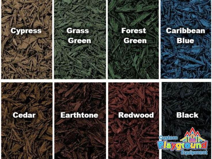 Highest quality, realistic looking playground rubber mulch by CustomPlaygroundEquipment.com