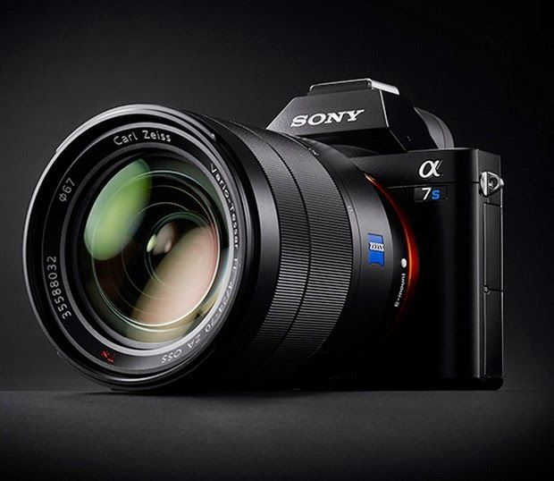 "Sony A7S | Sony Camera All new ""Sony A7S"" is a compact interchangeable lens camera aimed at videographers. Sony A7S offers a full frame sensor and the ability to shoot 4K videos. Sony A7S also has max ISO of 409,600 meaning it will practically shoot 4K Video footage in complete darkness."