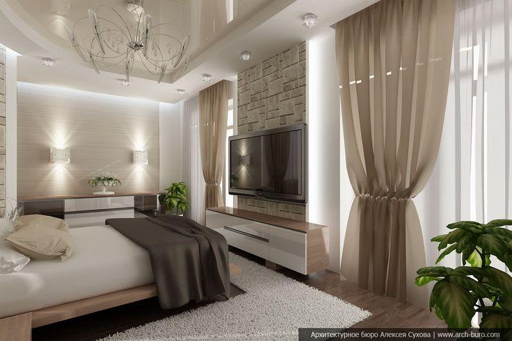 Дизайнер-архитектор выполнил дизайн коттеджа в современном стиле