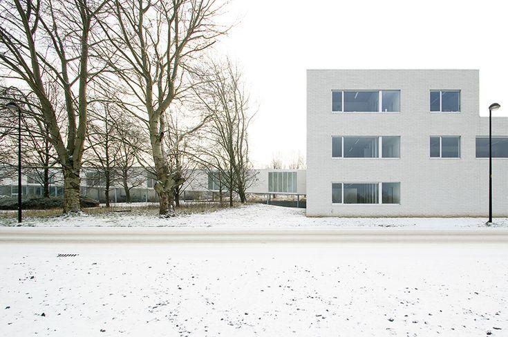 Building C and linking project 'Spina' Catholic University of Leuven dep Kortrijk