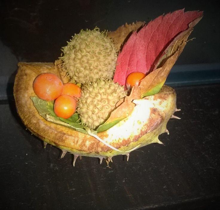 mini őszi dekoráció
