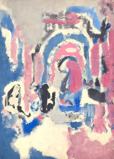 "dappledwithshadow: "" Untitled, Mark Rothko 1947 """