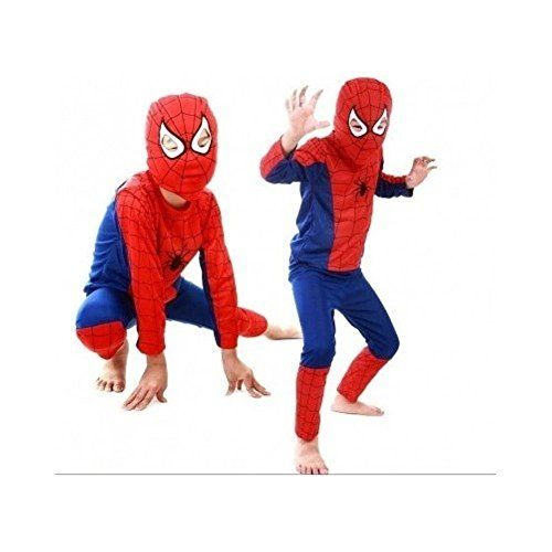 Spiderman Halloween Costume for Kids Party Boys Dress-up @ niftywarehouse.com #NiftyWarehouse #Geek #Gifts #Collectibles #Entertainment #Merch