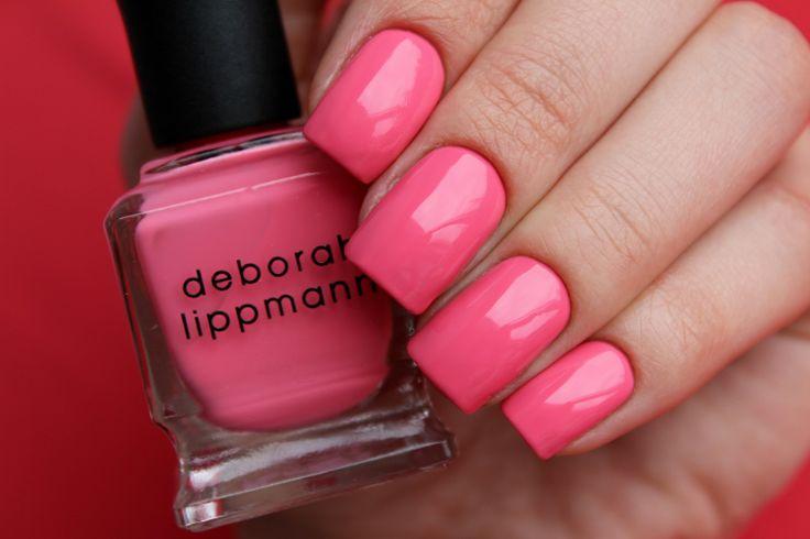 Новый ярко-розовый оттенок Deborah Lippmann Break 4 Love