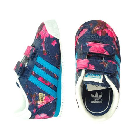 Adidas Floral Dragon - mini mioche - organic infant clothing and kids clothes - made in Canada