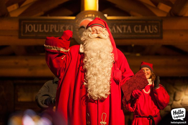 Christmas season was officially opened 23.11.2013 by Santa Claus himself on the Arctic Circle in Rovaniemi, Lapland, Finland!