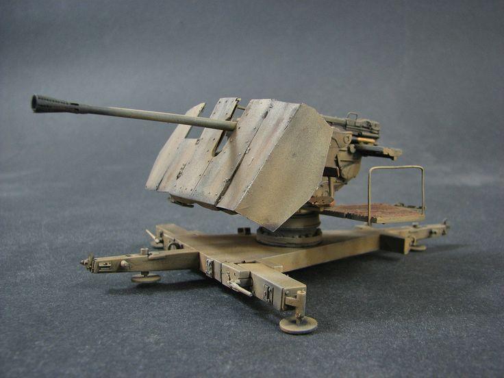 The 5 cm FlaK 41 (Flugabwehrkanone 41) was a German 50 mm