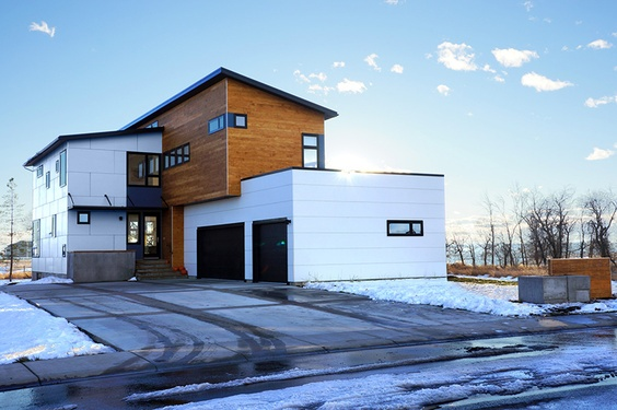 55 best homes modern passivhaus zero carbon images on pinterest zero architecture and house - Hive modular x line container home in canada ...