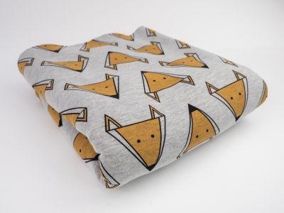 #foxfabric #fox #fabric #dresówka #materiał #lisy #lis #liski #pattern #foxpattern