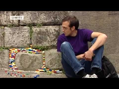 Jan Vormann restores crumbling architecture with what he calls dispatchwork with the emphasis on the patchwork. Instead of plaster or stucco,the German artist mends cracks,holes and fissures in buildings with Lego blocks. He's left his mark on the streets of Amsterdam,St. Petersburg and Tel Aviv,among other places.
