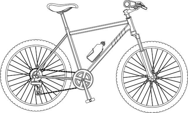 Un vélo tout terrain