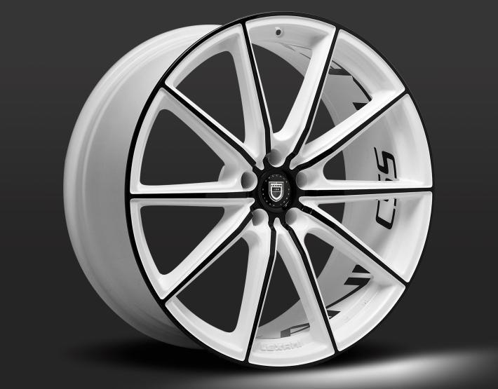 LEXANI CSS-10 custom - white and black finish