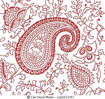 Vettore - indiano, Tessile, modello - archivi di illustrazioni, illustrazioni royalty free, icona stock clipart, icone stock clipart, line art, immagine EPS, immagini EPS, grafica, immagini grafiche, disegno, disegni, immagine vettoriali, artwork, arte vettoriale EPS