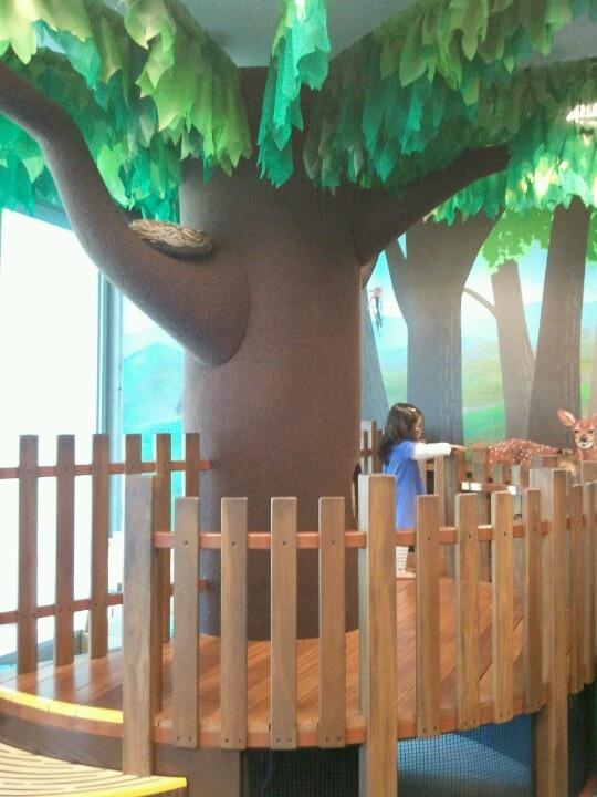 Playroom Tree House Mosaic Kids Decor Ideas Pinterest