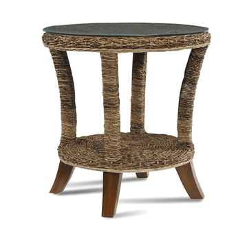 seagrass end table st kitts collection via wickerparadise table seagrass round wicker. Black Bedroom Furniture Sets. Home Design Ideas