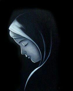 Nossa Senhora Virgem do Silêncio!
