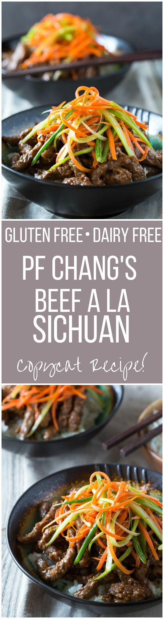 PF Chang's Beef a La Sichuan recipe ( Szechuan Beef ) This is a gluten free Copycat version that is so easy to make at home!