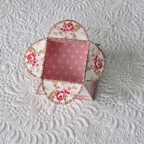 Flower Box Tutorial /Geta's Quilting Studio