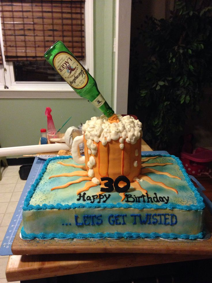 Beer Mug Cake Twisted Tea Cake Cakesbynicole Cakes By