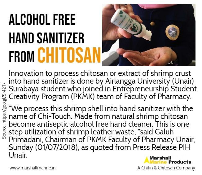Alcohol Free Hand Sanitizer From Chitosan Applicationsofchitosan
