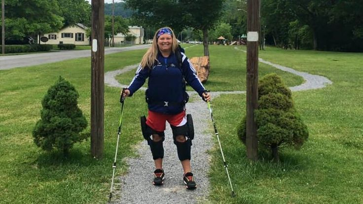 Meet the Paralyzed Woman Hiking the 2,000-Mile Appalachian Trail: Stacey Kozel isn't letting anything get in the way of her dream of hiking the Appalachian Trail - not even her paralysis.