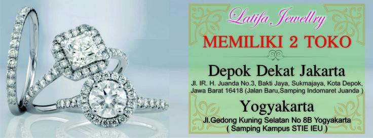 Latifa Jewellery : Pusat Jual Beli Perhiasan dan Cincin Kawin cincin tunangan cincin couple cincin emas palladium berlian platina murah jogja jakarta depok