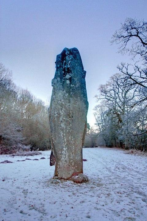 Menhir- Standing stone. Ireland